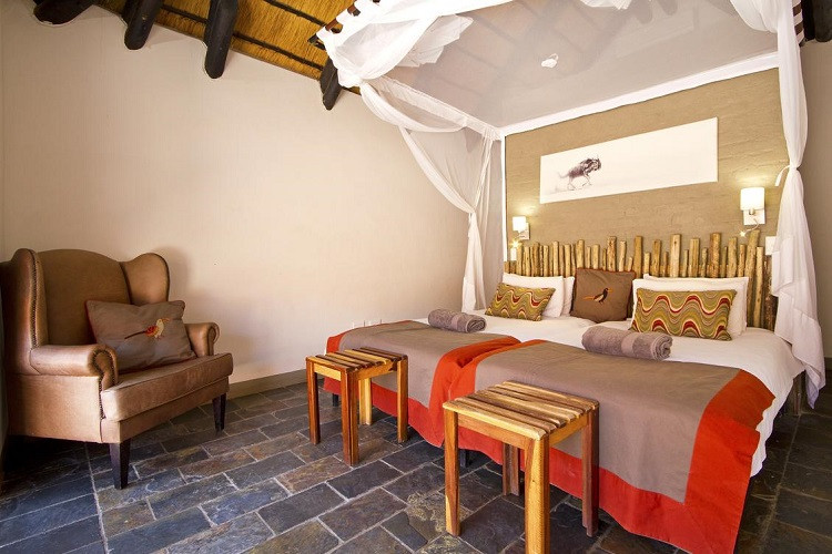 Twyfelfontein country lodge - twin room